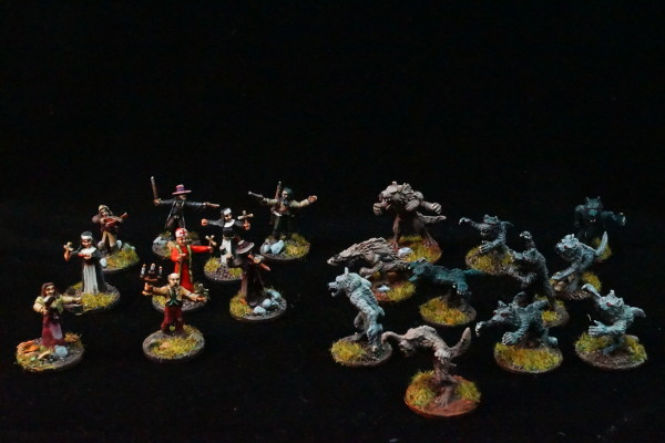 Chaos in Carpathia, 15mm, Miniatures from Blue Moon Manufacturer