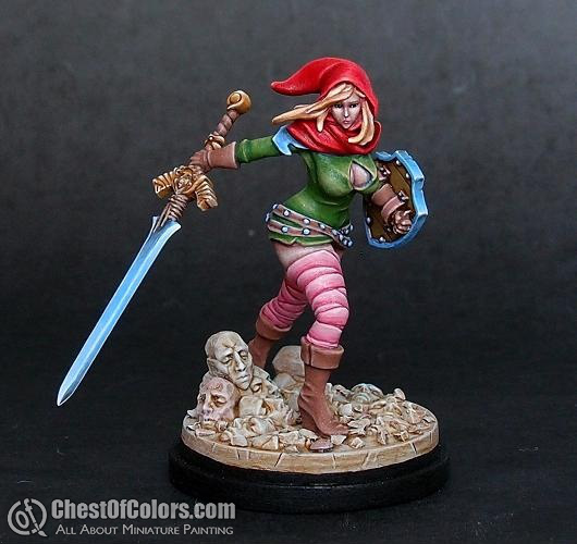 Kingdom Death Messenger of Courage