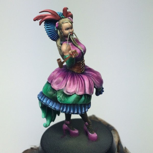 Circus troupe: Bearded woman WIP