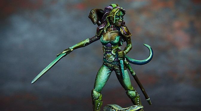 Lizard lady (or: Female Rogue)