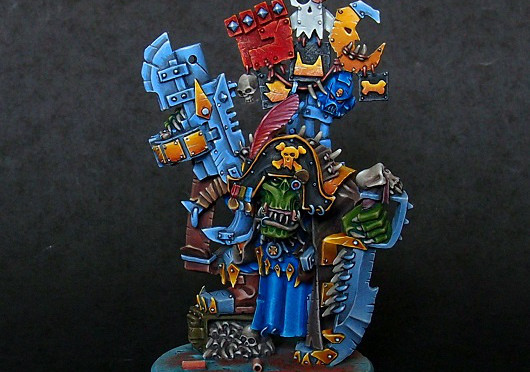 Ork Captain Badrukk