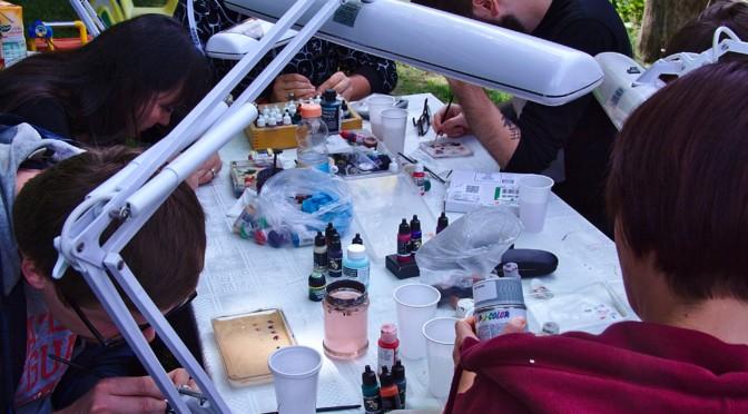 Miniature painting weekend