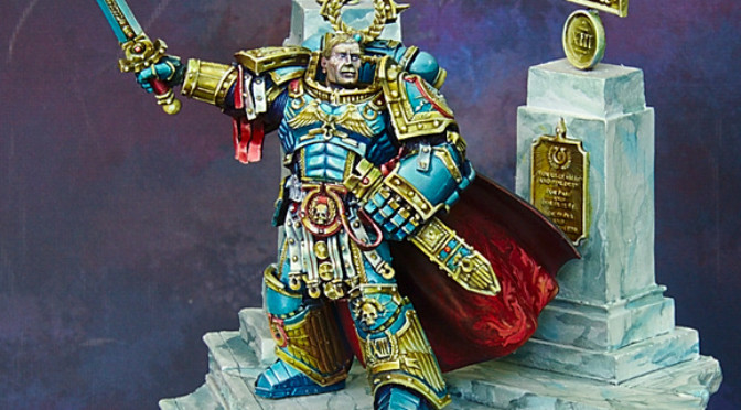 Roboute Guilliman, the Ultramarines primarch
