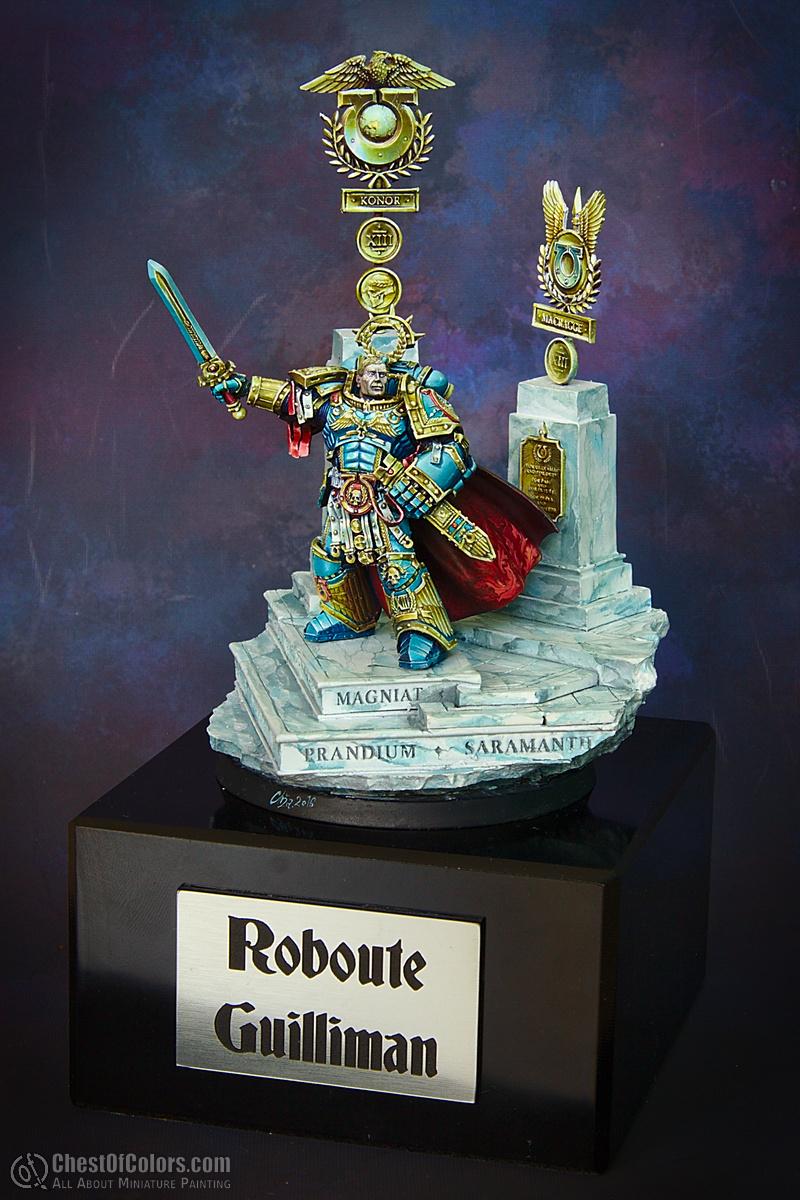 Roboute Guilliman, primarch of Ultramarines