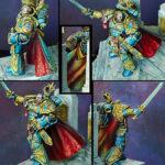 Roboute Guilliman, primarch of Ultramarines (details)