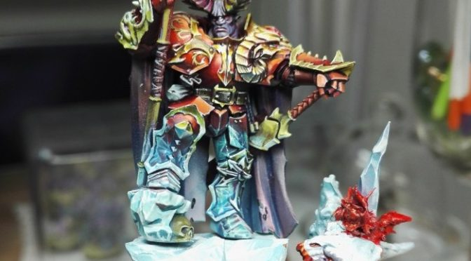 Chaos Lord (of ice and fire) - WIP by Ana