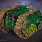 Salamanders Land Raider Proteus