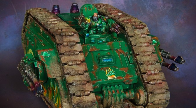 Land Raider Proteus for Salamanders Space Marines