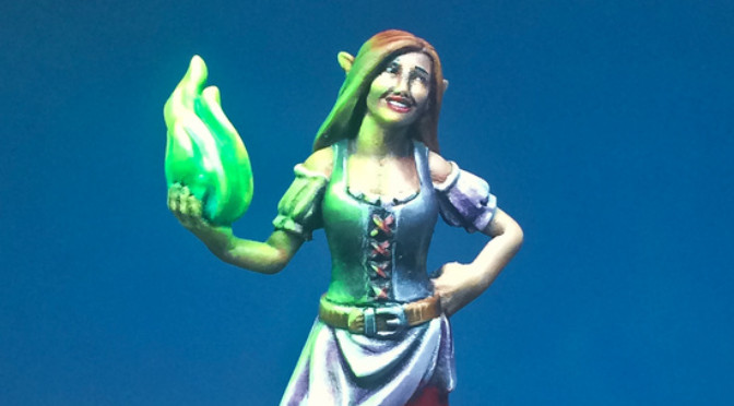 Barmaid from Hero Forge