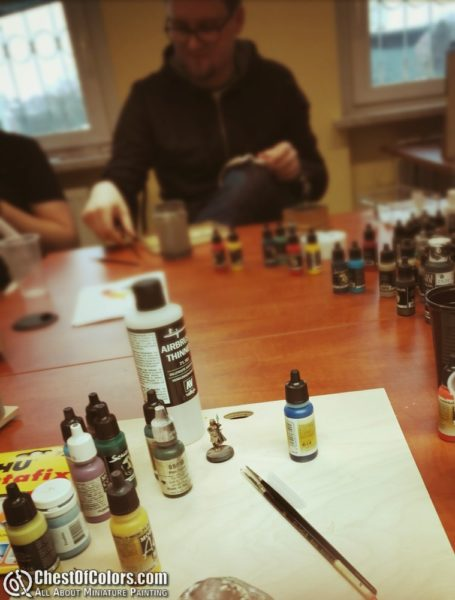 Miniature painting weekend in Opole, PL