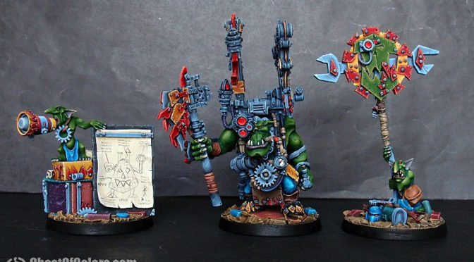 Ork Boss Buzzgob