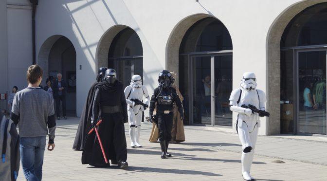 Darth Vader at a miniature contest