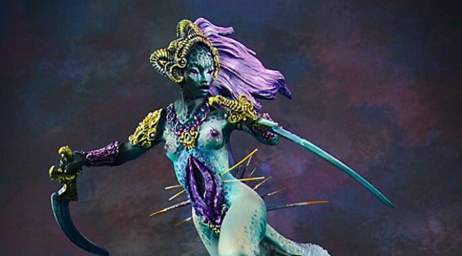 Nymert, or Daemon Princess of Slaanesh