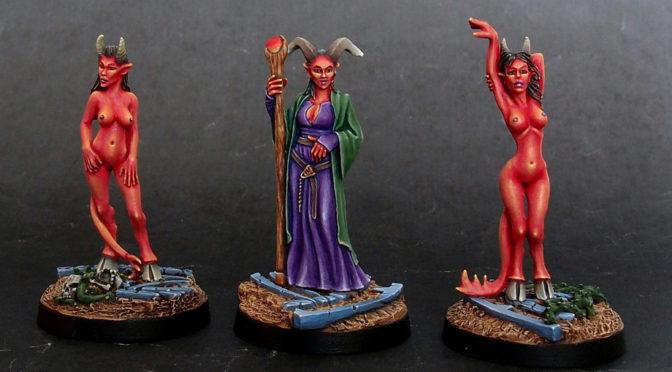 Semira Marise and her Succubi