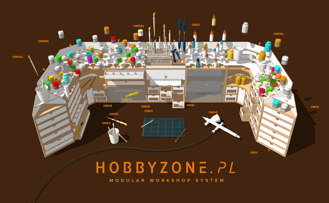 Modular workshop from HobbyZone