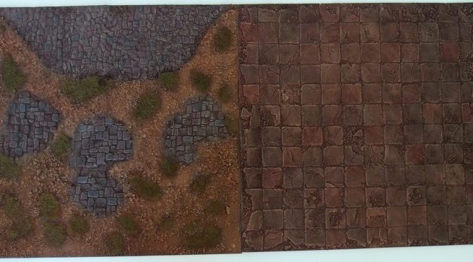 Painting first 3D Bases – a step-by-step description