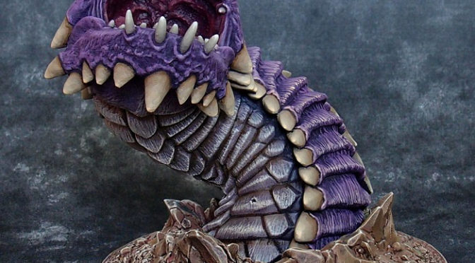 Giant Purple Worm