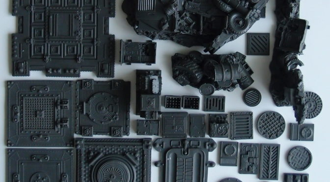 Bantam Alley Wargames Resin Bits & Terrain – review