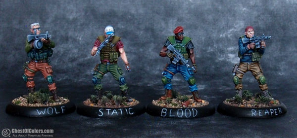 Euphoria Miniatures Ghosts