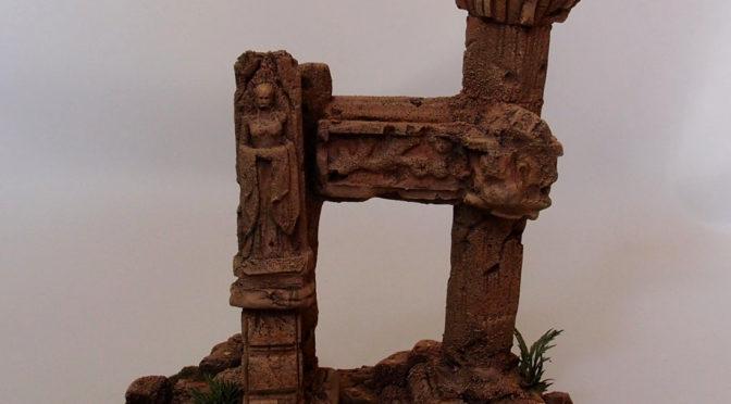 The GÅRDBÛK Shrine ruins
