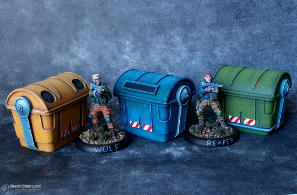 Trash Bins - Euphoria Miniatures