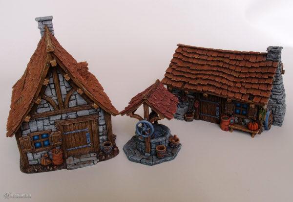 Tabletop World Cottages