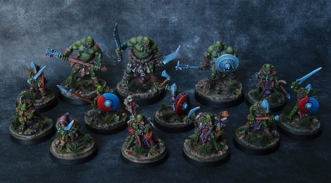 RBG Goblins warband finished