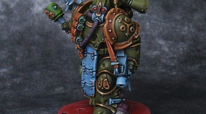 Death Guard marine #3
