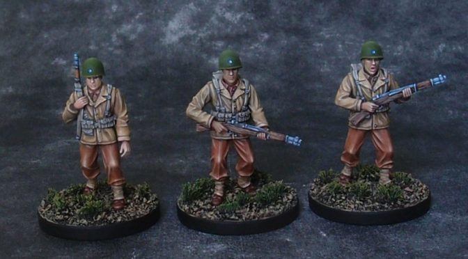 US Infantry patrolling
