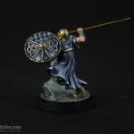 Fantasy viking warband