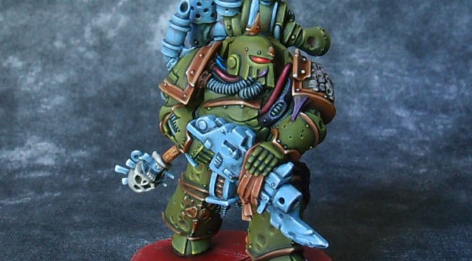Death Guard marine #6