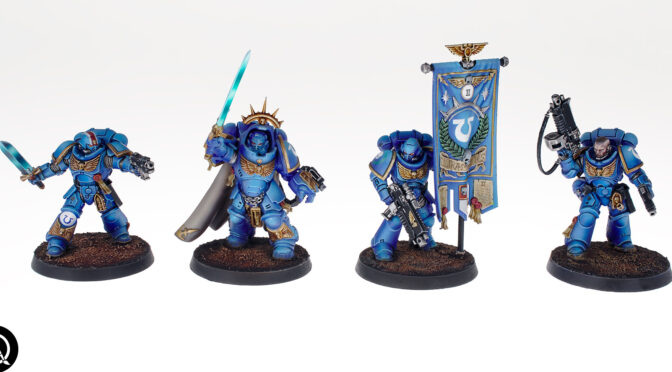 Dark Imperium Ultramarines army and something new