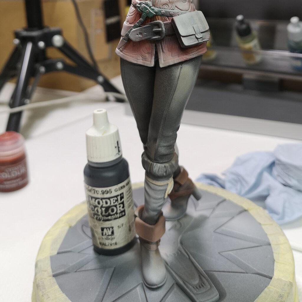 Triss Merigold – repainting part 2