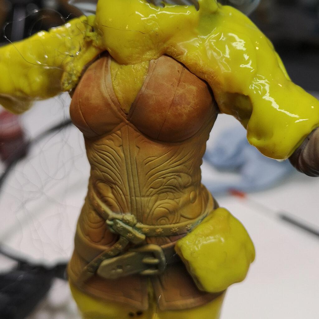 Repainting Triss Merigold statue