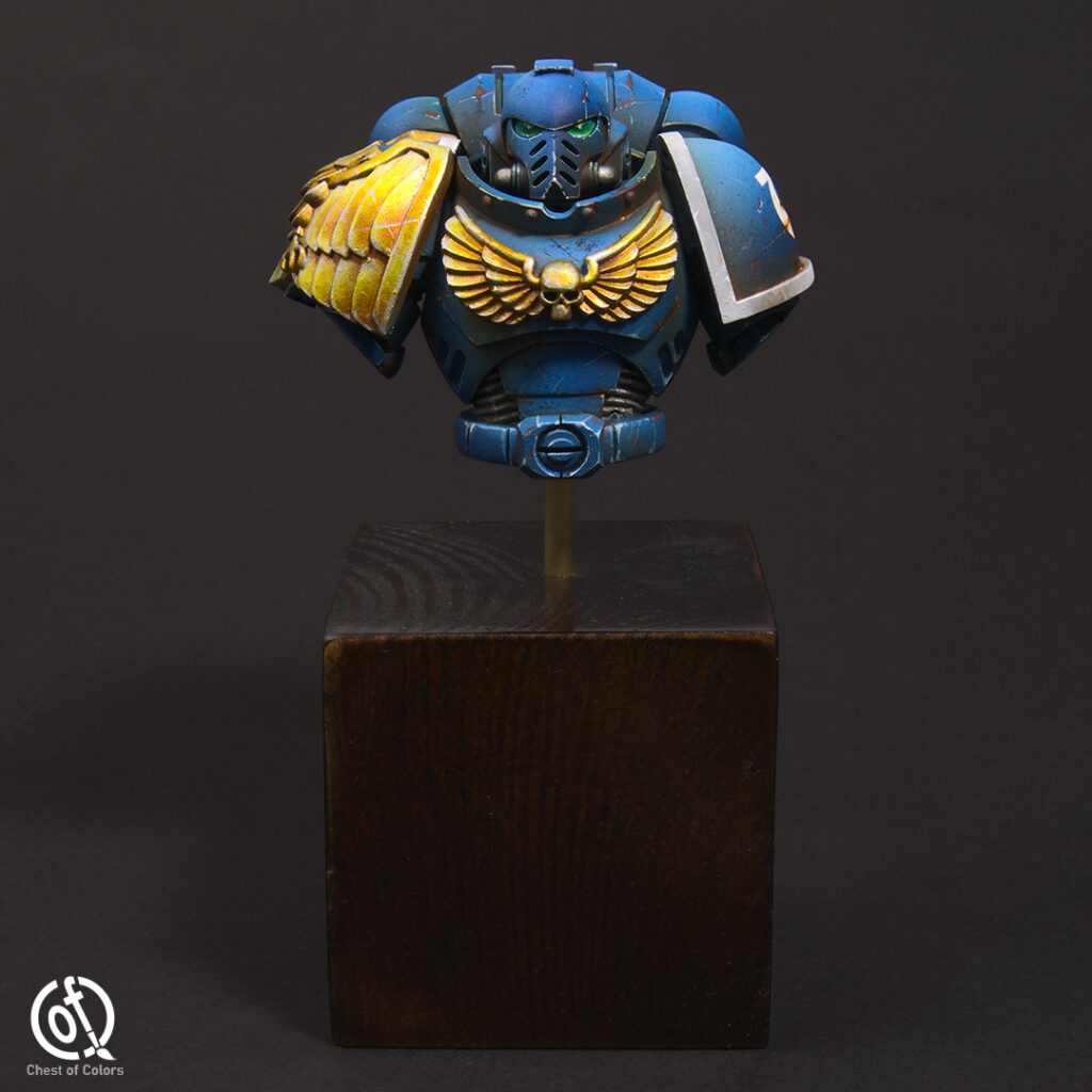 Ultramarines Primaris Space Marine bust