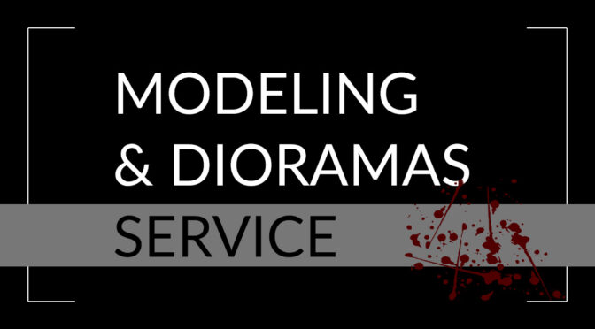 Modeling and diorama building service