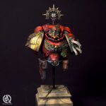 Blood Angels Space Marine bust