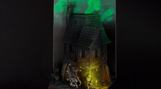Geheimnistag, or Deathmaster Snikch's scenic base
