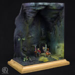 Gotrek and Felix diorama