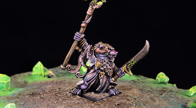 Skaven Grey Seer and Thanquol