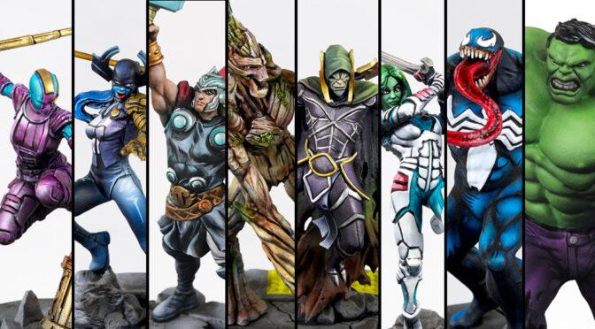 Painting Marvel: Crisis Protocol miniatures was fun!